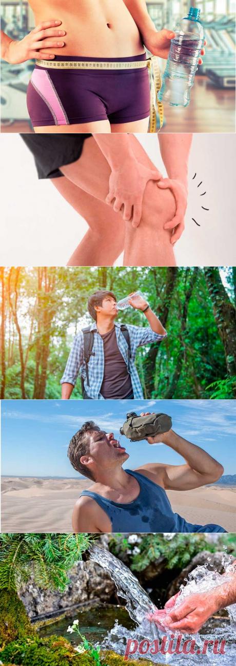 Для чего нужна вода человеку? Сколько нужно воды в день?