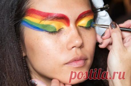 Интересные решения необычного макияжа