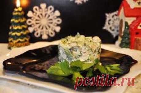 """Салат с дичью """"Для королевского стола"""" - кулинарный рецепт."""