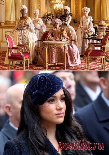 Кто, кроме Меган Маркл, в британской королевской семье был смешанной расы