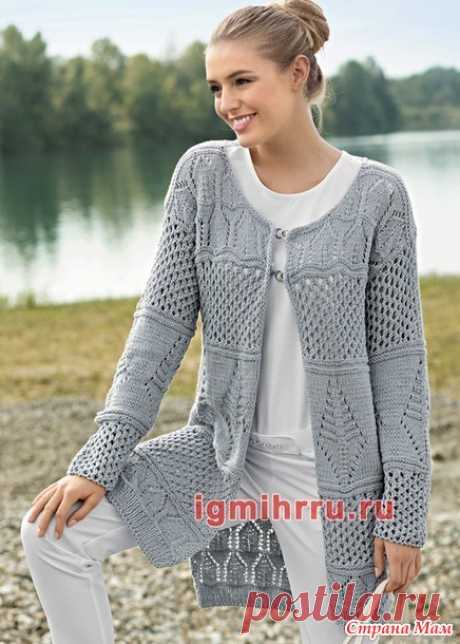 . Gray cardigan spokes! - Knitting - the Country of Mothers