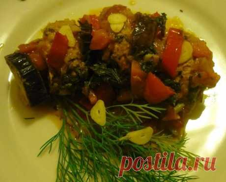 Las berenjenas en turco - la receta simple de la colación sabrosa