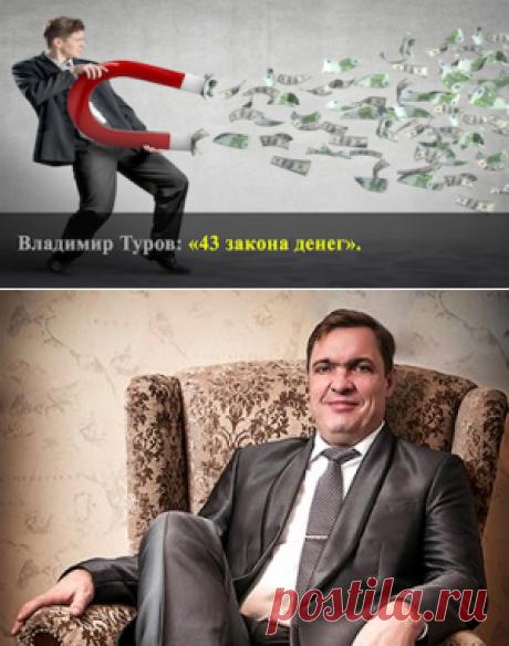 «43 закона денег» - Владимир Туров.