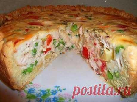 Открытый чудо – пирог! Просто и вкусно! Настоятельно рекомендую эту вкуснотищу!