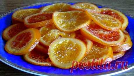 Карамелизованные апельсины Конфеты и сладости больше не покупаю. Это лучший десерт к чаю!Превосходный рецепт цитрусового десерта в домашних условиях — карамелизованные апельсины, вкус которых несомненно Вас порадует.Перестала…