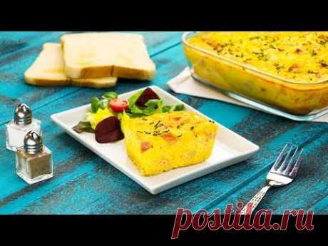 И на завтрак, и на ужин, и на праздник. Как вам вот такое творение из хлеба и яиц?