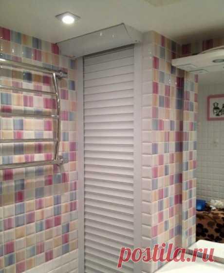 Сантехнические рольставни для ванной комнаты #сантехническиерольставни