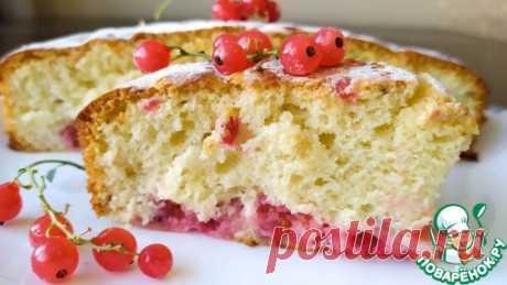 Пирог с замороженными ягодами – кулинарный рецепт