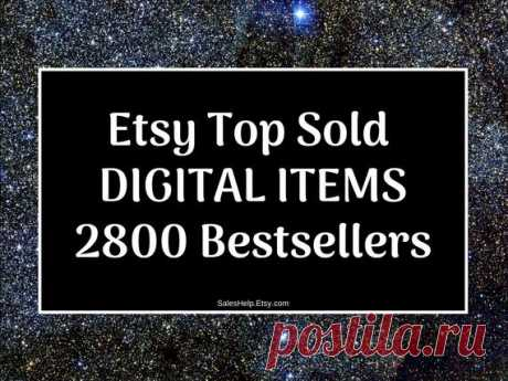 Etsy Top Sold Digital Items, Bestsellers 2020 Etsy Trends, Most Popular Now, Top Selling Items List, Best Selling Etsy Products What to Sell This is Etsy Top Sold Etsy DIGITAL ITEMS Items.  Bestsellers are grouped by Etsy Products Categories.  Each bestseller has its NAME (title), Etsy link, shop country and shop establish year.  There are over 2850 Bestsellers in this List.  Fabruary 25, 2020 update.  You will receive digital PDF file: