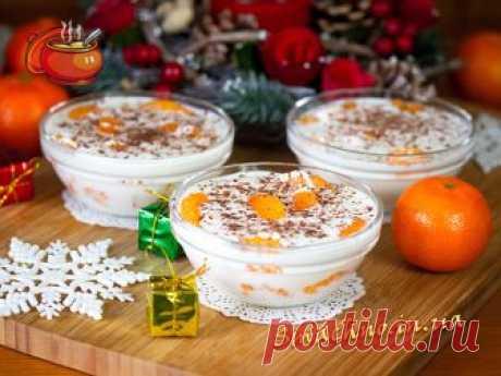 Десерт «Мандарины в белом шоколаде». Рецепт с фото / Десерты и напитки / Смачно