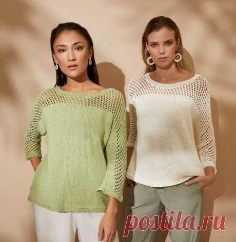 Женский пуловер Pear - Вяжи.ру