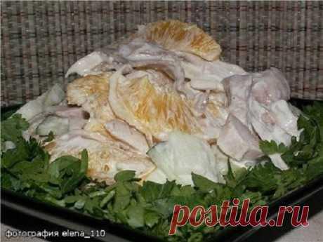 Шикарный салат «Каприз» — девочки оценят   Очень вкусно и полезно!     Состав и приготовление: Куриное мясо отвариваем в подсоленной воде, остужаем и нарезаем средними кусочками. Очищаем апельсины от кожуры и белых прожилок, вырезаем дольки …