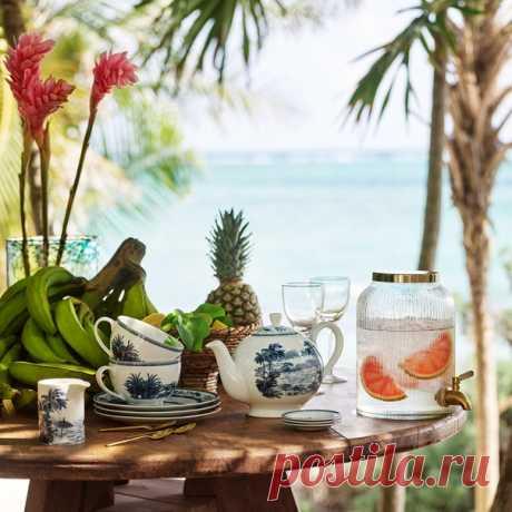 Наша новая коллекция H&M Home поможет вам создать великолепное летнее настроение у себя дома! Познакомьтесь с предметами декора, дизайн которых навеян красотой океана и безмятежностью теплых солнечных дней. 💫🦋 #HMHome