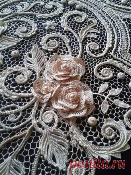 1000 идей для вязания спицами: Ирландские кружева