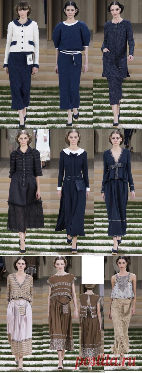 Экосознание высокой моды от Chanel сезон весна 2016