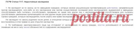 Недостойные наследники: за что можно лишить права на наследство | ЛьготОтвет.ру | Яндекс Дзен