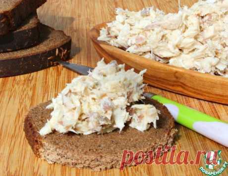 Сливочный паштет из отварной скумбрии – кулинарный рецепт
