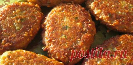 КОТЛЕТЫ ИЗ БАКЛАЖАН по арабски «И МЯСА НЕ НАДО!» В 1000 раз лучше мясных!!! Сочные, легкоусвояемые, бесподобно ароматные и высоко полезные!