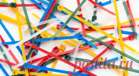 Как можно применить кабельную стяжку в доме Нестандартное применение кабельной стяжки в быту