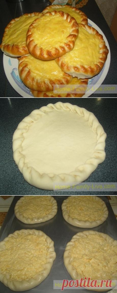Khachapuri - the step-by-step photorecipe - khachapuri about tvorogomkulinarny recipes