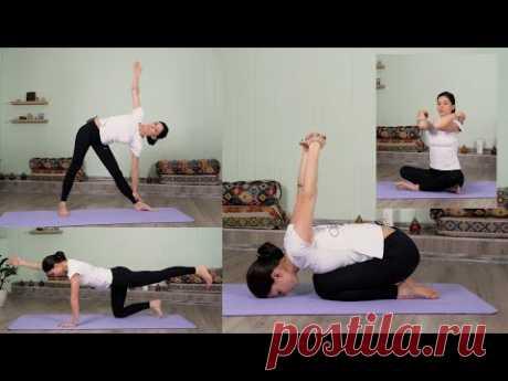 Йога для начинающих дома. Здоровое и гибкое тело за 40 минут