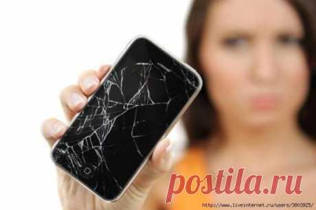 Как убрать царапины с телефона, планшета.