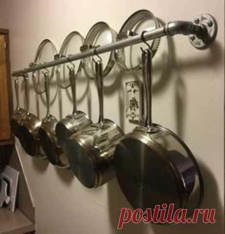 Industrial Pots and Pan Hanger