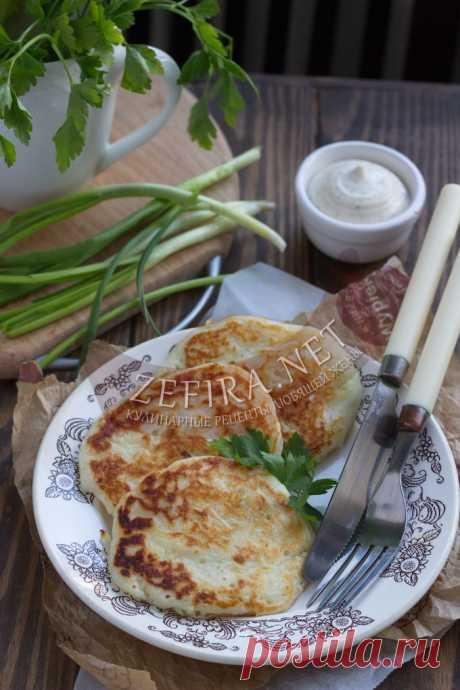 Вкусные капустные оладьи из сырой капусты — Кулинарные рецепты любящей жены