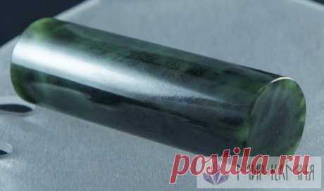 Цилиндр нефрит 30*30*100 мм