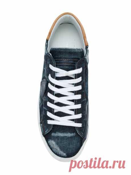 Купить Philippe Model кроссовки 'Paris'.