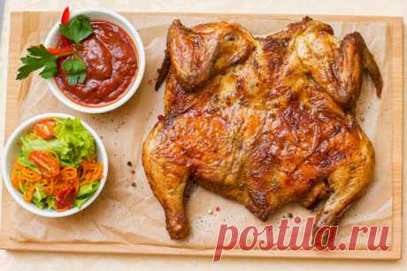 Цыпленок табака /тапака/ | | Кулинарные рецепты