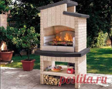 Как организовать зону для приготовления еды на открытом огне — Сделай сам, идеи для творчества - DIY Ideas