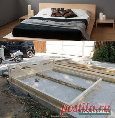 Самодельные кровати - возможность сэкономить и проверить свои силы - Дом и стройка - Статьи - FORUMHOUSE
