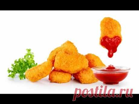 КУРИНЫЕ НАГГЕТСЫ с сыром - Чикен Макнаггетс рецепт - Chicken Nuggets Recipe
