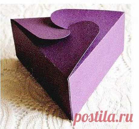 7 подарочных коробок со схемами сборки своими руками   СДЕЛАЙ САМ!