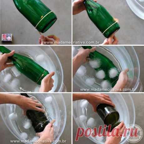 Милые сердцу штучки: Утилизируем красивые бутылки. Несколько интересных идей.