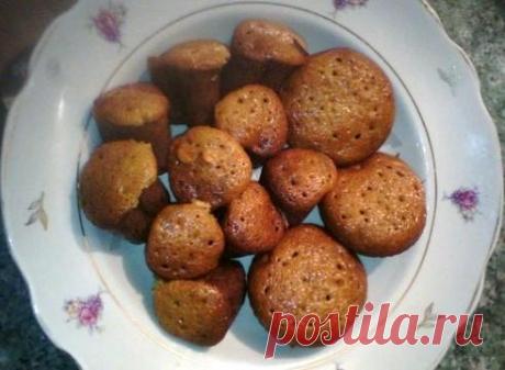 Медовые кексы с арахисом