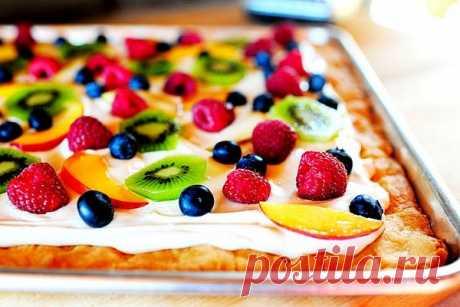 Необычные,вкусные сладкие пиццы