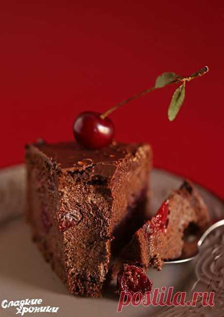 Торт Пьяная вишня - классический рецепт с фото пошагово - Сладкие хроники