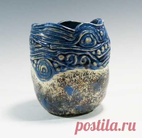 Handbuilt Pinch / Coil Pot Керамический Pinch Pot Handbuilt Coilt