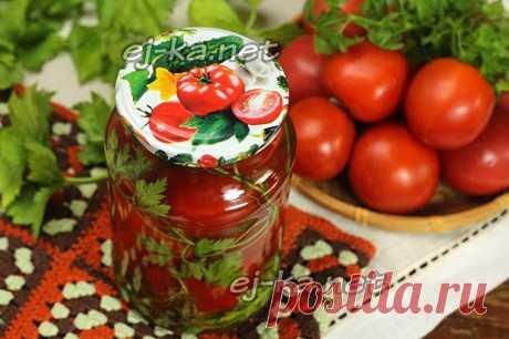 Сладкие помидоры в литровых банках Этот способ заготовки сладких помидоров с вкусным рассолом в литровых банках на зиму привлекателен тем, что вам не придется высчитывать пропорции для маринада на каждую банку. Маринад готовится отдельно в том количестве, которое вам необходимо и затем разливается по банкам. Например, на банку объемом в один литр понадобится примерно пол-литра маринада, на двухлитровую около литра, в банку на три литра маринада войдет литра полтора. Ну и с...