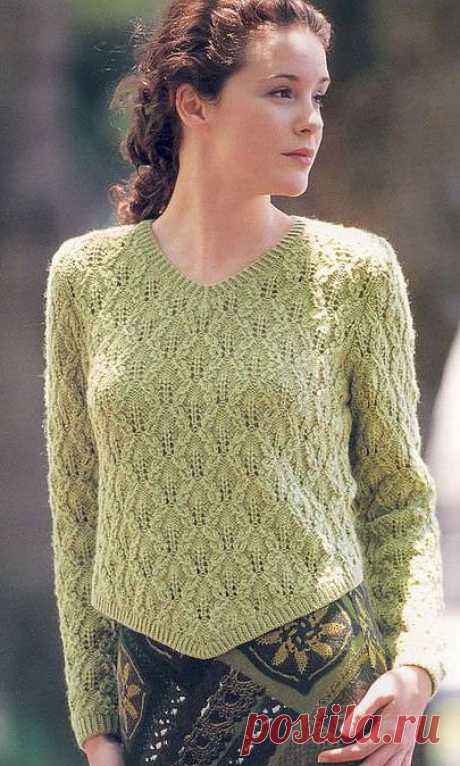 Ажурный пуловер!.