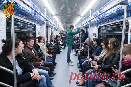 В метро случайно подслушал разговор двух немцев о России и русских
