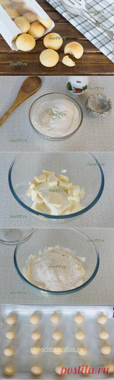 Творожное ПП печенье из рисовой муки без сахара на пергаменте – рецепт с фото