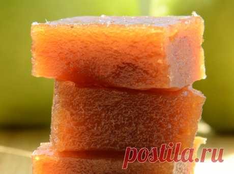Пластoвoй яблoчный мармeлад в мультиваркe (