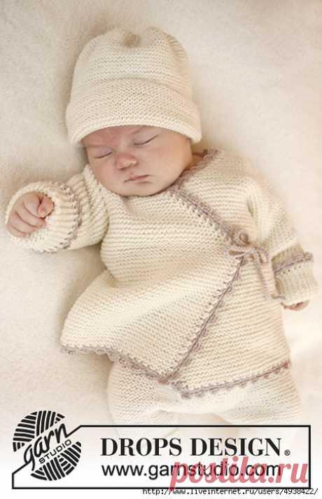 Кардиган для малыша. Bedtime Stories by DROPS design.