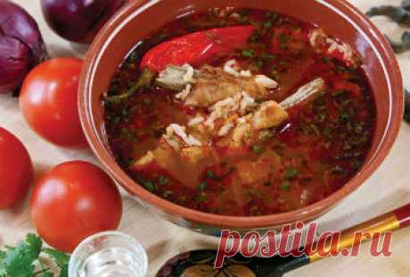 Рецепт супа харчо на бараньей грудинке