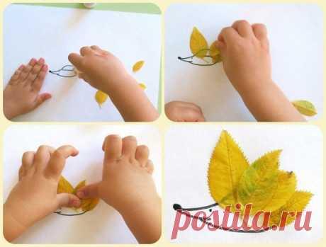 Какими видами творчества можно заняться с ребенком осенью — Поделки с детьми