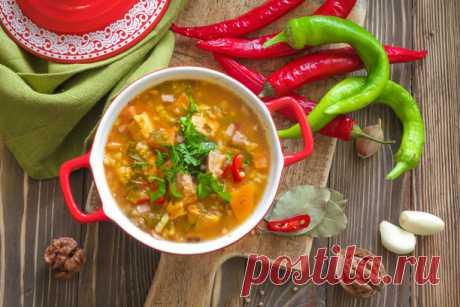 Как готовить суп харчо | Учимся готовить | Рецепты | Рецепты Вкусно и Полезно