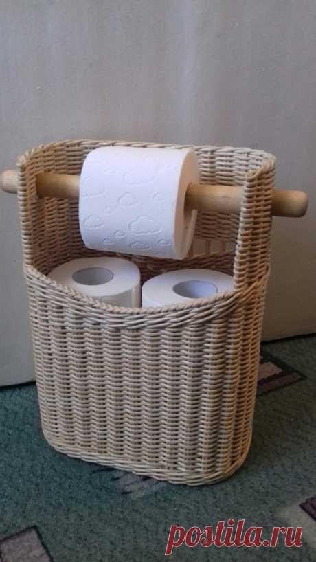 Плетение из газет. Как Вам идея? ))